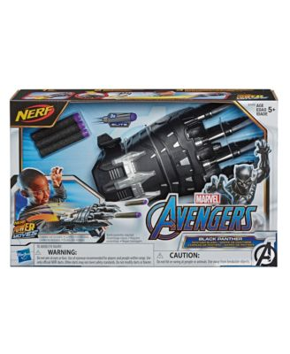 Closeout! Nerf Power Moves Marvel Avengers Black Panther Power Slash Kids Roleplay