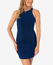 Juniors' Sleeveless Bodycon Dress