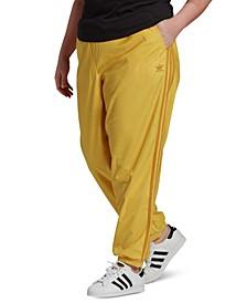 Plus Size Corduroy Cuffed Pants