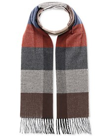 Men's Patterned Cashmink Scarf