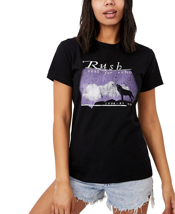 COTTON ON Women's Classic Band Rush T-shirt