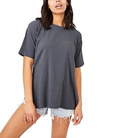 Women's Bella Drop Shoulder Short Sleeve Top