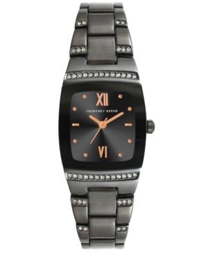 Women's Gunmetal Metal Alloy Bracelet Watch
