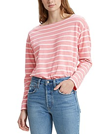 Jane Cotton Striped Sailor T-Shirt
