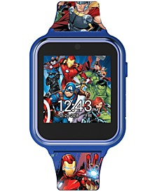 Kid's Avengers Silicone Strap Touchscreen Smart Watch 46x41mm