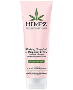 Blushing Grapefruit & Raspberry Creme In-Shower Hydrating Herbal Body Moisturizer