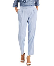 Pleated Slim-Fit Pants, Created for Macy's
