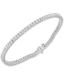 Diamond Princess Tennis Bracelet (3-1/2 ct. t.w.) in 14k White Gold