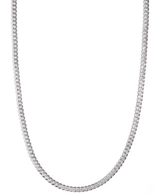 silver chain shop silver chain macy s Snow Snake Tubing men s sterling silver necklace 24 5 1 2mm chain