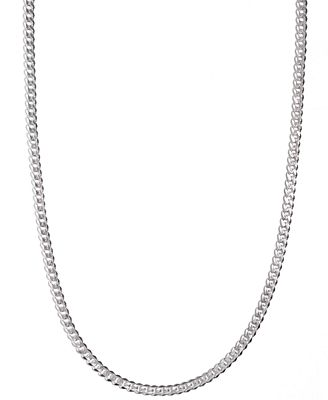 mens sterling silver necklace 24quot 512mm chain