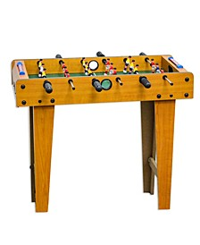 """Giant 27"""" Wood Foosball Table with Legs"""