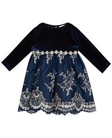 Baby Girls Velvet Dress