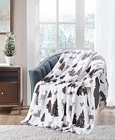 "LAST ACT! Cozy Plush 50"" x 70"" Throw, Created for Macy's"