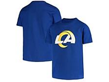 Women's Los Angeles Rams Logo Cotton T-Shirt