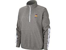 Women's LSU Tigers Therma Fleece Half-Zip Pullover