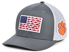 Clemson Tigers PFG Fish Flag Stretch-Fitted Cap
