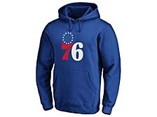 Philadelphia 76ers Men's Halpert Primary Logo Hoodie