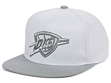 Oklahoma City Thunder Cool Gray Snapback Cap