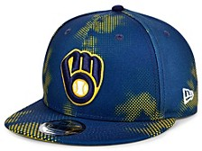 Men's Milwaukee Brewers Team Fleck 9FIFTY Cap