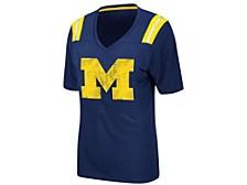 Women's Michigan Wolverines Rock Paper Scissors T-Shirt