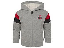 Ohio State Buckeyes Infant Ready Full Zip Sweatshirt