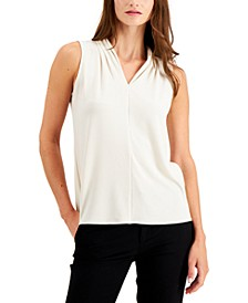 Solid V-Neck Tank Top, Created for Macy's