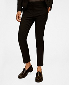 Women's Suit Slim-Fit Pants