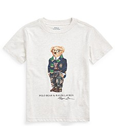 Little Boys Rugby Bear Cotton Jersey Tee
