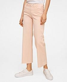 Women's Culotte Mid Waist Jeans