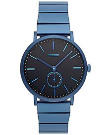Norrebro Men's Blue Stainless Steel  Bracelet Watch 40mm