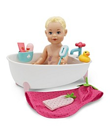 Toy Doll Bath Set 9pc