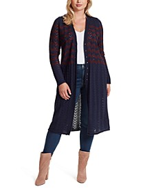 Trendy Plus Size Jolie Duster Cardigan