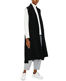 Long Shawl-Collar Vest