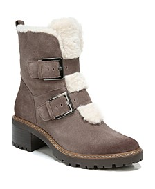 Tristan Lug Sole Booties