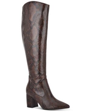 Retie Knee-High Boots Women's Shoes
