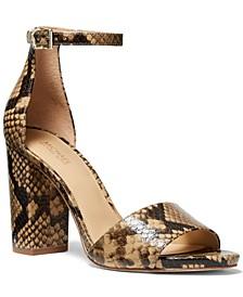 Leela Ankle-Strap Sandals