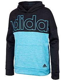 Big Boys Melange Block Hooded Pullover
