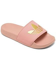 Women's Adilette Lite Slide Sandals from Finish Line