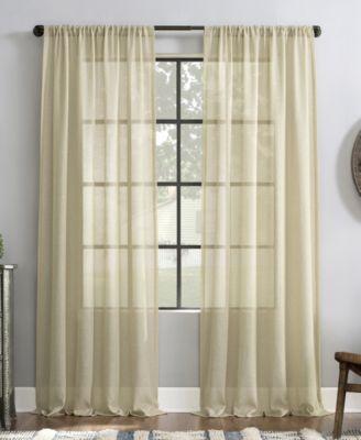 "Slub Textured Curtain, 52"" x 84"""