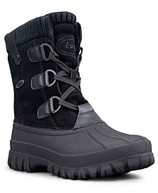 Women's Stormy Classic Duck Toe Water Resistant Regular Fashion Boot