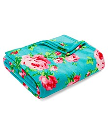 Bouquet Day Ultra Soft Plush Twin Blanket