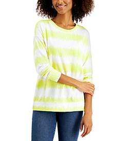 Tie-Dyed Stripe Sweatshirt, Created for Macy's
