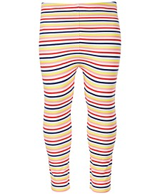 Baby Girls Rainbow Striped Leggings, Created for Macy's