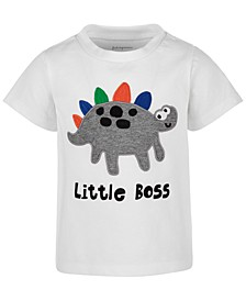 Baby Boys Little Boss T-Shirt, Created for Macy's