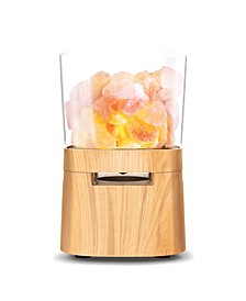 Himalayan Salt Lamp With Wireless Speaker