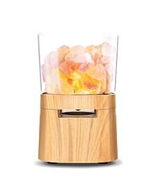 Himalayan Salt Lamp With Wireless Speaker