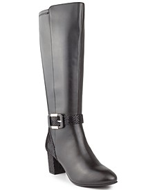 Isabell Wide-Calf Dress Boots, Created for Macy's