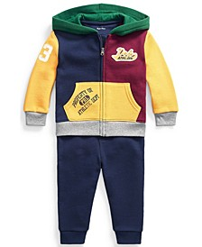 Baby Boys Fleece Hoodie and Jogger Set