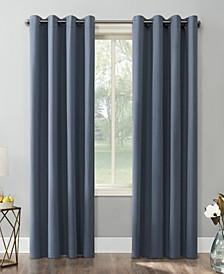 """Saxon Blackout Grommet Curtain Panel, 54"""" x 108"""""""
