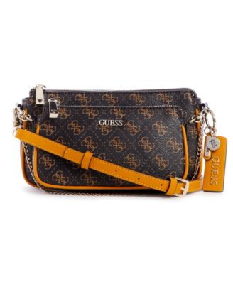 Arie 2-in-1 Double Pouch Signature Crossbody